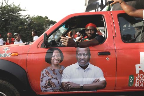 Eyes On Female Vice Presidential   Candidate As Ghana Heads To The Polls