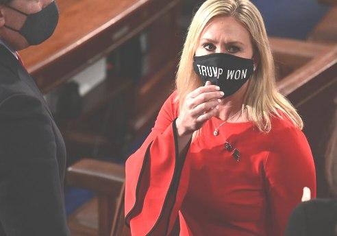 Republican Congress Woman Files Articles Of Impeachment Against President Biden