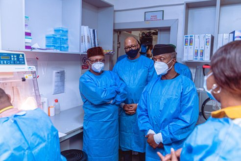 Osibanjo,Health Minister Laud Effort Of NCNC Staff, Public Health  Workers
