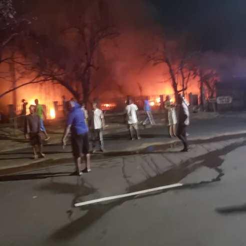 3 Dead, 13 Injured, 25 Vehicles Burnt As Tanker Explodes In Ikeja, Lagos