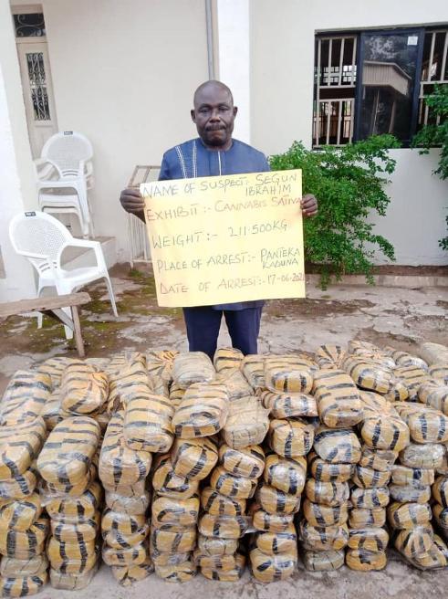 Drug War: NDLEA Nab Peddlers With Assorted Hard Drugs Across Nigeria (PHOTOS)