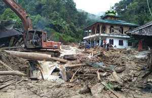 Landslides due to heavy rain in Indonesia, 11 people died