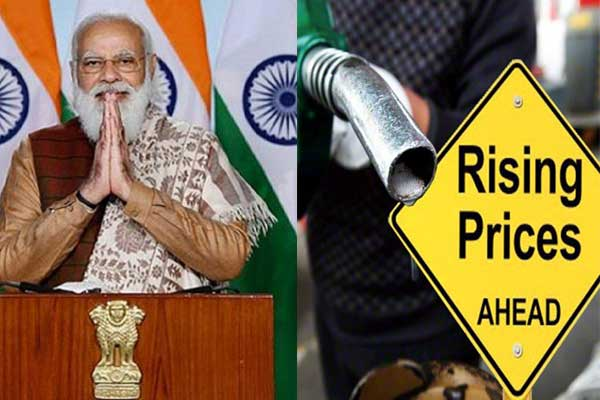 Petrol reached 91, so the angry public said,'Modi has Rs 45 before the election. Owl made by telling half liter of petrol price