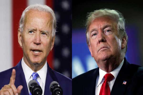 Trump announced this new announcement regarding the swearing in of Biden's President
