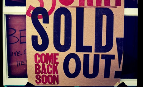 Sold out cropped - flickr