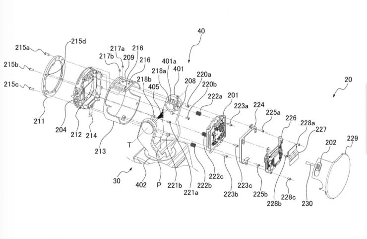 Canon is working on an integrated camera gimbal with