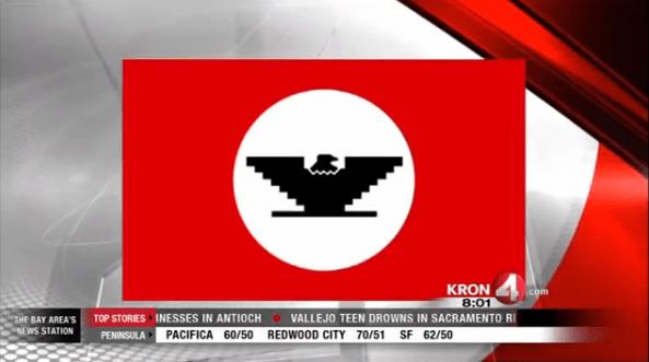 KRON_News_UFW_Flag