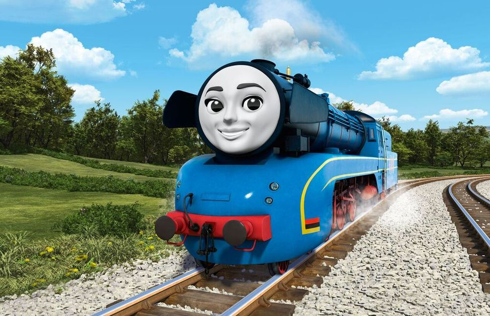 With the introduction of foreign trains Thomas the Tank