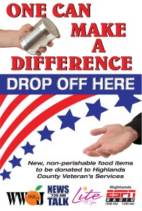 Give To The Veterans Food Drive