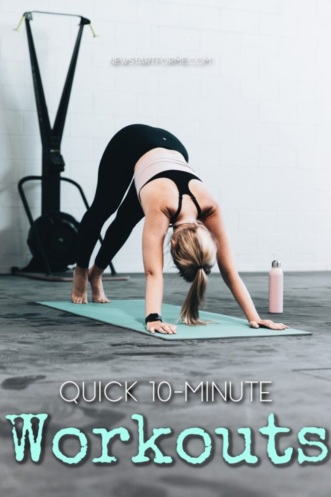 Quick 10 minute workouts are perfectly good options to stay healthy and lose weight during the holiday season when life is at its busiest.