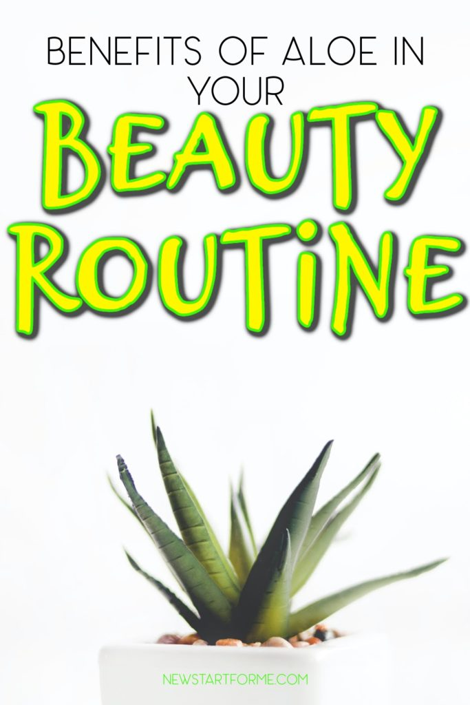 The benefits of aloe in your beauty routine can make it so you buy aloe vera in its many forms regularly like you would an eyeliner pencil.