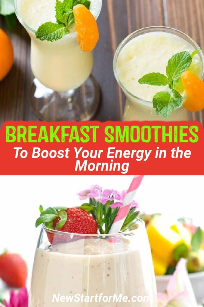 Breakfast smoothies are a great way to get all of the benefits from fruits and even veggies without doing too much work.