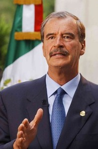 Vicente Fox, president of Mexico from 2000 to 2006. Photo fuente.presidencia.gob.mx