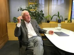A company that makes CBD oil used the name of David Attenborough to promote its products despite not having his permission. Photo: Steve Bowbrick
