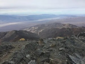 The view of Death Valley from Telescope Peak. Photo: the Greater Southwestern Exploration Company