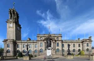 In the absence of a photo of the Magistrate's Court in South Shields, heres one of the town hall. Photo: Chabe01