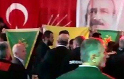 PKK' lılar CHP'nin Etkinliğini Bastı