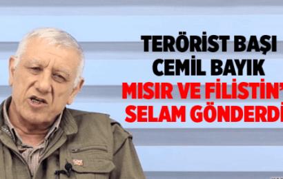 Terörist Başı Cemil Bayık Filistin ve Arap Ülkelerine Selam Gönderdi
