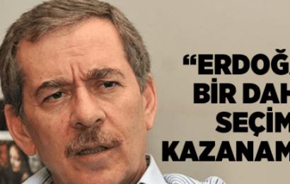 Abdullatif Şener:Erdoğan Bir Daha Seçim Kazanamaz!
