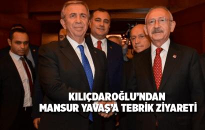 Kılıçdaroğlu'ndan Mansur Yavaş'a Anlamlı Ziyaret