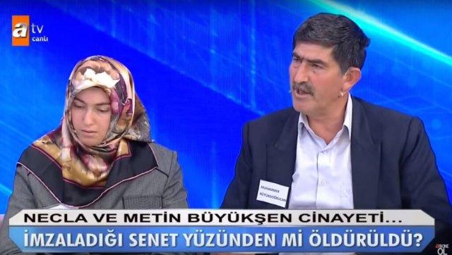 Muhammer Büyükdoğrucan - Metin ve Necla Büyükşen Cinayeti