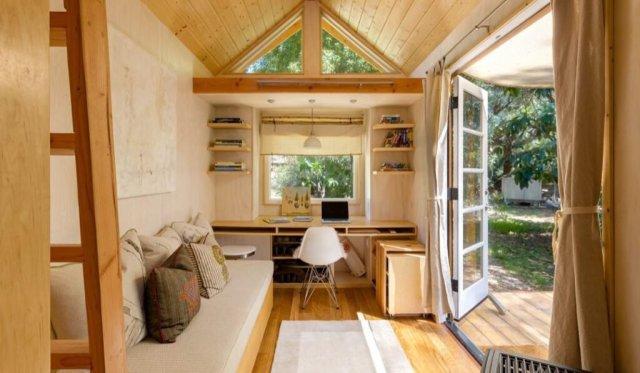 Tiny house mikro ev mini ev ince ev taşınabilir evler
