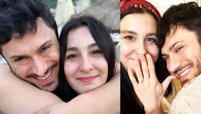 Yasemin Sakallıoğlu ve Nişanlısı Burak Yırtar