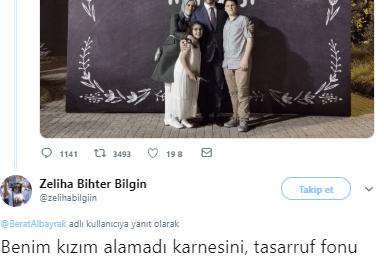 """Berat Albayrak'ın Aile Fotoğrafına Sert Tepki: """"Benim Yavrumda Alacaktı En Güzel Belgeleri"""""""