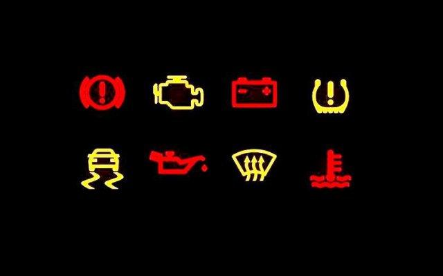 Araç Uyarı ve İkaz Lambalarının Anlamları - Hangi Arıza Lambası Ne Anlama Geliypr ?