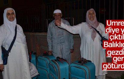 """""""Umre'ye Götüreceğiz"""" Dediler, Şanlıurfa ve Gaziantep'i Gezdirdiler"""