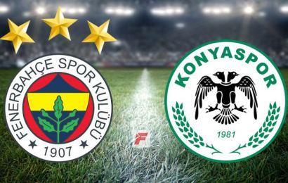 Fenerbahçe Konya'ya Fark Attı!  Fenerbahçe 5-1 Konyaspor