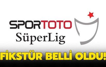 Spor Toto Süper Lig 2019-2020 Cemil Usta Sezonu'nun Fikstürü Belli Oldu