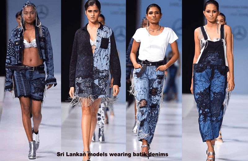 Sri Lankan Fashion Designer Gives Asian Look To Iconic American Denim Newstrails Com