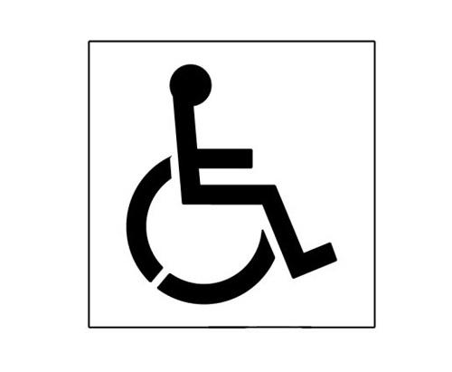 20 inch handicap symbol