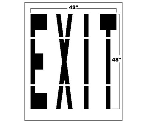 48 Inch Federal EXIT