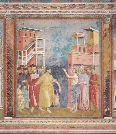 Джотто. Фреска в базилике