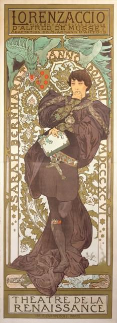 Lorenzaccio, 1896. © Mucha Trust 2017. 5. Language of Flowers, 1900. © Mucha Trust 2017.