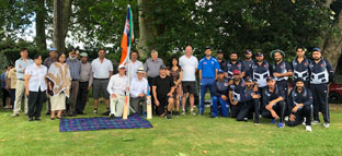 Lawmakers defeated in community cricket 'match'