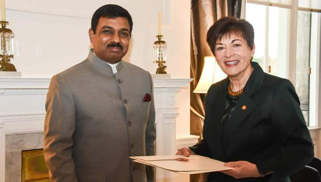 India's new envoy presenting credentials to NZ's Gov-General