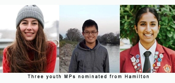 3 Hamilton teens attend Youth Parliament as MPs