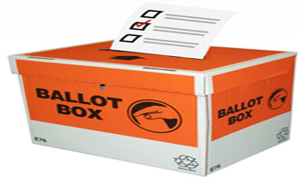 Mobile ballot box is coming near you