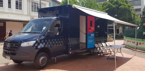 Police Community Hub at garden Place