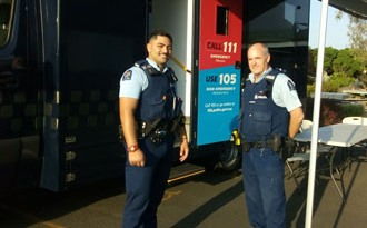 Mobile hub makes Police more visible, accessible in city