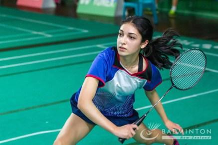 Amreen Virk in action