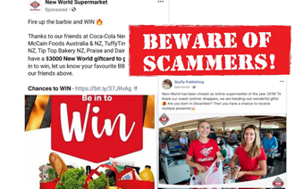 Don't get duped by fake promos, warns New World
