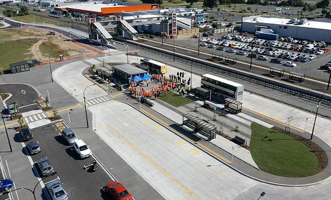 Hamilton's Rotokauri Transport Hub is now officially open
