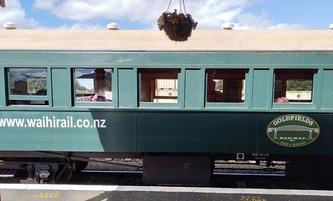 Heritage train ride that takes you back in time