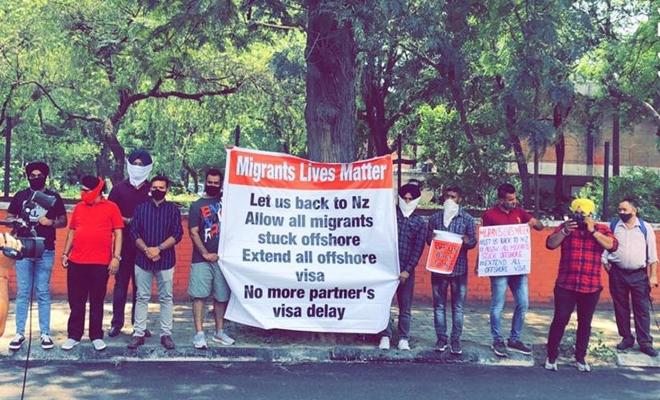 Offshore NZ visa-holders stuck in India plan hunger strike