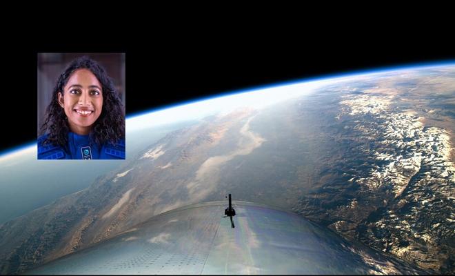 Indian-origin women in Virgin Galactic's first fully crewed space flight