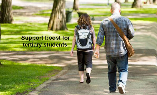 More funding for tertiary students affected by COVID-19